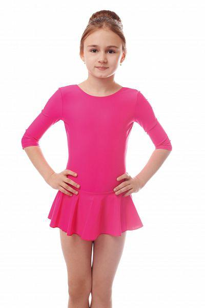 Купальники гимнастические для девочек с юбочкой