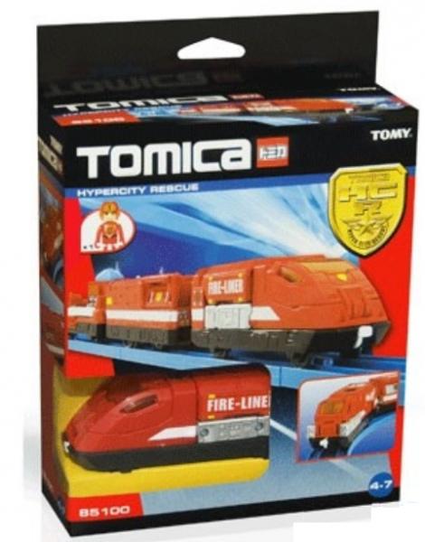 Пожарный поезд Tomica от 3х лет