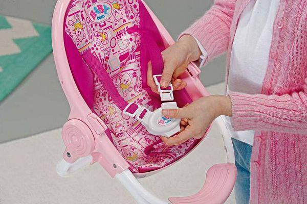 Стульчик для кормления куклы беби бона