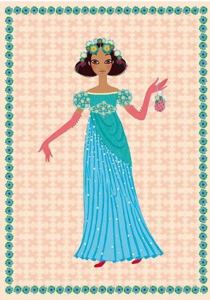 Здравствуй принцесса открытка, открытки