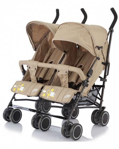 Коляска трость для двойни baby care