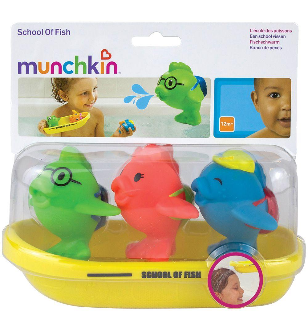 munchkin игрушки для ванны веселая рыбалка