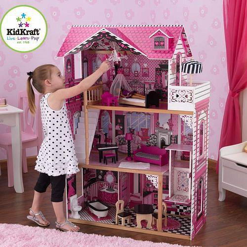 Дом для барби своими руками для девочек
