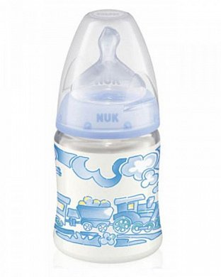 Бутылочка Baby blue First Choice 150 мл NUK (Нук)