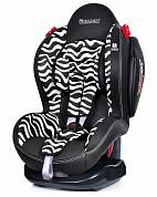 Автокресло Welldon New Smart Sport Side Armor CuddleMe Zebra
